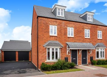 Thumbnail 3 bed semi-detached house for sale in Rainbow Crescent, Leamington Spa