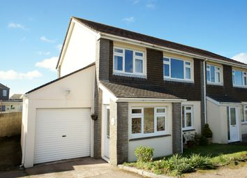 Thumbnail 3 bed semi-detached house for sale in Trease, Pendeen