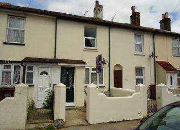 Thumbnail 2 bed terraced house for sale in Trafalgar Street, Gillingham, Kent.