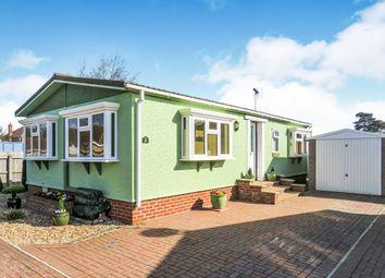 Thumbnail 2 bedroom mobile/park home for sale in Rozel Court, Beck Row, Bury St. Edmunds
