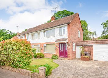 Thumbnail 3 bed semi-detached house for sale in Akehurst Close, Copthorne, Crawley