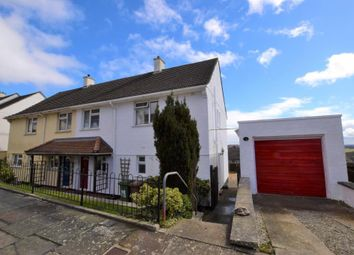 Thumbnail 3 bed semi-detached house to rent in Compton Avenue, Plymouth, Devon