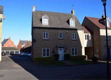 Thumbnail 5 bedroom detached house for sale in Brownset Drive, Kingsmead, Milton Keynes, Buckinghamshire