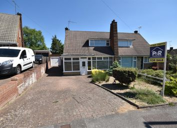 Thumbnail 2 bed semi-detached bungalow for sale in Holmwood Close, Dunstable