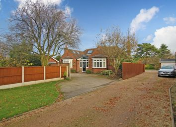 Thumbnail 4 bed detached bungalow for sale in Rolleston Road, Burton-On-Trent