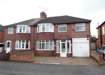 Thumbnail 4 bed semi-detached house for sale in Kirkland Road, Leicester, Leicestershire