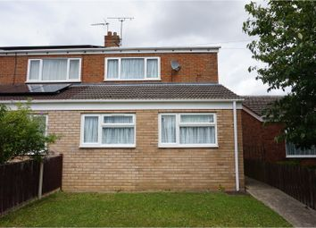 Thumbnail 3 bedroom semi-detached house for sale in Lloyds Avenue, Kessingland, Lowestoft