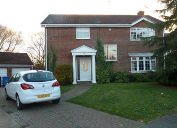 Thumbnail 4 bed detached house to rent in Ninfield Close, Carlton Colville, Lowestoft