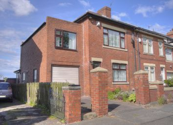 Thumbnail 3 bed semi-detached house for sale in Station Road, Cramlington