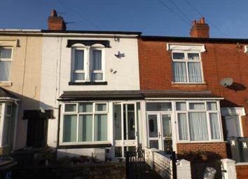 Thumbnail 3 bed terraced house for sale in Foley Road, Ward End, Birmingham, West Midlands
