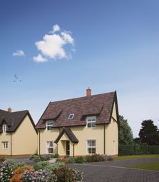 Thumbnail 3 bed detached house for sale in Old Station Road, Mendlesham, Stowmarket
