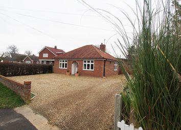 Thumbnail 3 bed detached bungalow for sale in New Road, Hethersett, Norwich