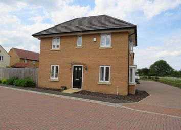 Thumbnail 4 bed detached house for sale in Herald Way, Peterborough
