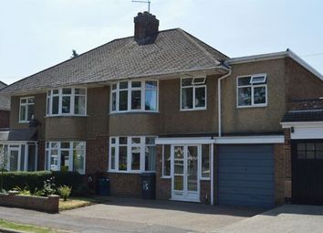 Thumbnail 4 bed semi-detached house for sale in Grassmere Avenue, Westone, Northampton