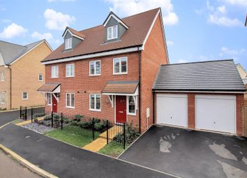 Thumbnail 3 bed semi-detached house for sale in Moorcroft Lane, Aylesbury