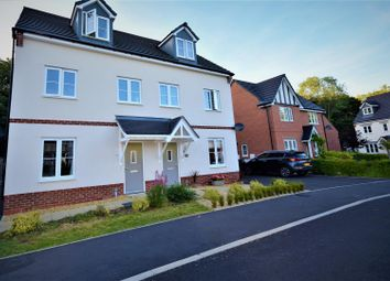 Thumbnail 3 bed semi-detached house for sale in Moss Wood Court, New Broughton, Wrexham