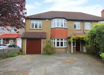 Thumbnail 5 bed semi-detached house for sale in Dalmeny Road, Carshalton