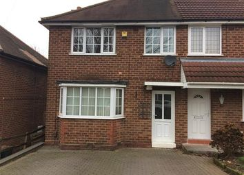 Thumbnail 3 bed semi-detached house to rent in Brackenfield Road, Great Barr, Birmingham