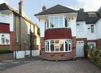 Thumbnail 3 bed semi-detached house to rent in Cowper Road, Southgate