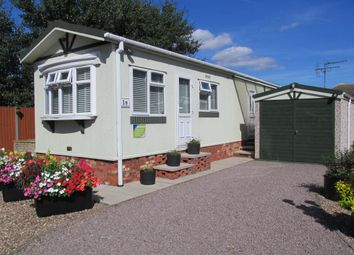 Thumbnail 1 bed mobile/park home for sale in Beckhead Park (Ref 5401), North Hykeham, Lincoln, Lincolnshire