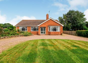 Thumbnail 3 bed detached bungalow for sale in School Lane, West Butterwick, Scunthorpe