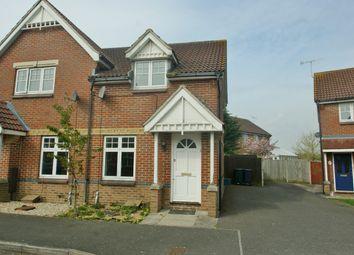 Thumbnail 2 bedroom semi-detached house to rent in Gordon Close, Ashford