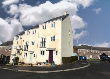 Thumbnail 4 bed end terrace house for sale in Wadlands Meadow, Okehampton