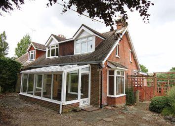 Thumbnail 4 bed semi-detached house for sale in Horsebridge, Kings Somborne, Stockbridge, Hampshire