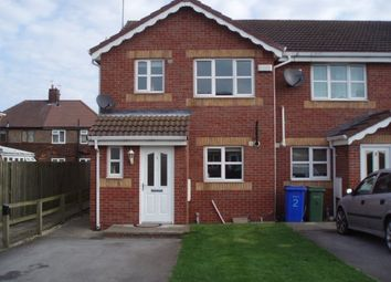 Thumbnail 3 bed end terrace house to rent in Reed Court, Goole