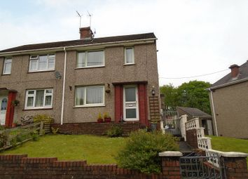 Thumbnail 2 bedroom semi-detached house for sale in Pencwmdu, Cilmaengwyn, Pontardawe.