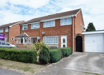 Thumbnail 3 bed semi-detached house for sale in Osborne Road, Warsash