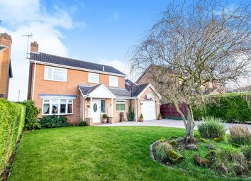 Thumbnail 5 bed detached house for sale in Beech Road, Branston, Lincoln