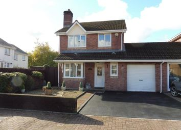 Thumbnail 3 bed link-detached house for sale in Trevithick Gardens, Merthyr Tydfil