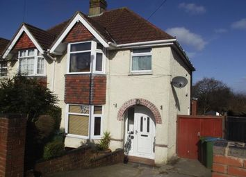 Thumbnail 4 bedroom semi-detached house for sale in Cornwall Road, Southampton