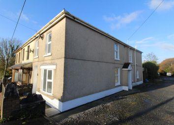 Thumbnail 4 bed semi-detached house for sale in Llandeilo Road, Cross Hands, Llanelli