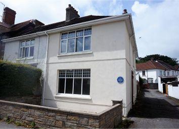 Thumbnail 3 bed semi-detached house for sale in Felinfoel Road, Llanelli