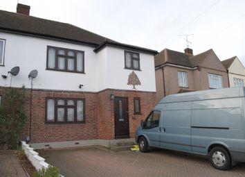 Thumbnail 4 bed semi-detached house to rent in Gubbins Lane, Harold Wood, Romford