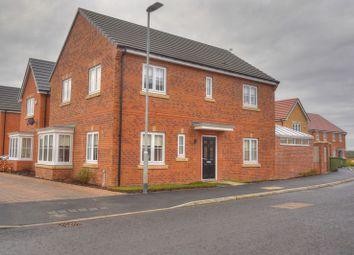 Thumbnail 4 bed detached house for sale in St Nicholas Drive, Bedlington