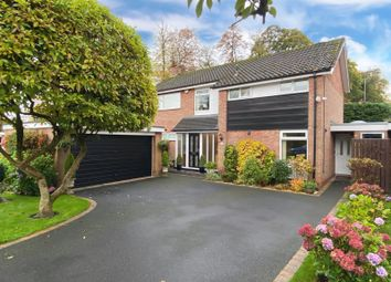 Thumbnail 4 bed detached house for sale in Fulshaw Park South, Wilmslow