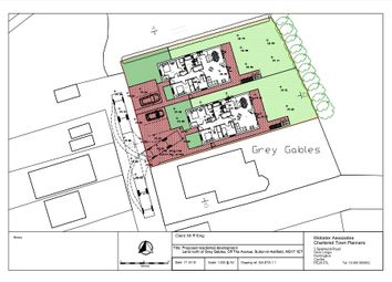 Thumbnail Land for sale in Off The Avenue, Sutton-In-Ashfield, Nottinghamshire