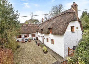 Thumbnail 3 bed detached house for sale in Stockbridge Road, Kings Somborne, Stockbridge, Hampshire