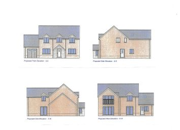 Thumbnail 4 bed detached house for sale in Station Road, Derwydd, Ammanford, Carmarthenshire.