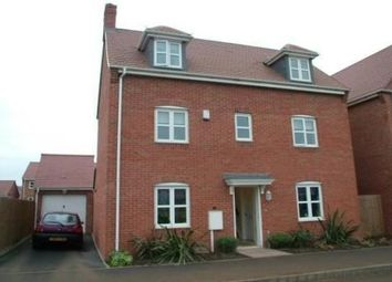 Thumbnail 4 bed detached house to rent in Bradbury Gardens, Ruddington, Nottingham