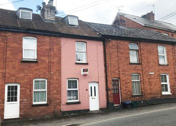 Thumbnail 2 bed terraced house for sale in Belmont Road, Tiverton