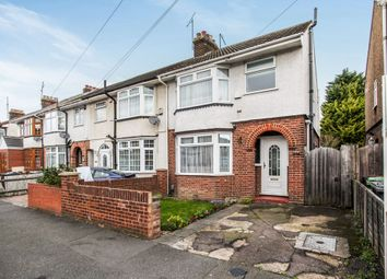 Thumbnail 3 bedroom end terrace house for sale in Alder Crescent, Luton