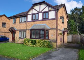 Thumbnail 2 bed semi-detached house for sale in Goldcrest Close, Sharston, Wythenshawe, Manchester