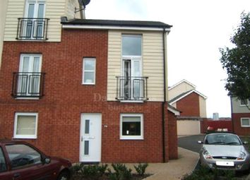 Thumbnail 2 bedroom end terrace house for sale in Ariel Close, Newport, Gwent.