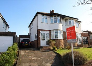Thumbnail 3 bed semi-detached house for sale in Jersey Drive, Petts Wood, Orpington, Kent