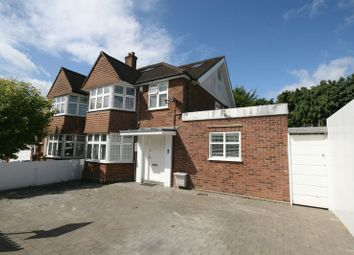 Thumbnail 4 bed semi-detached house for sale in Priory Hill, Sudbury, Wembley