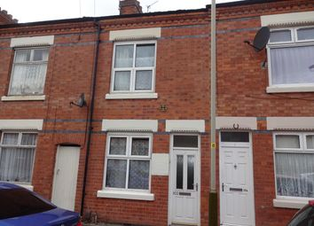 Thumbnail 3 bed terraced house to rent in Harrison Road, Leicester